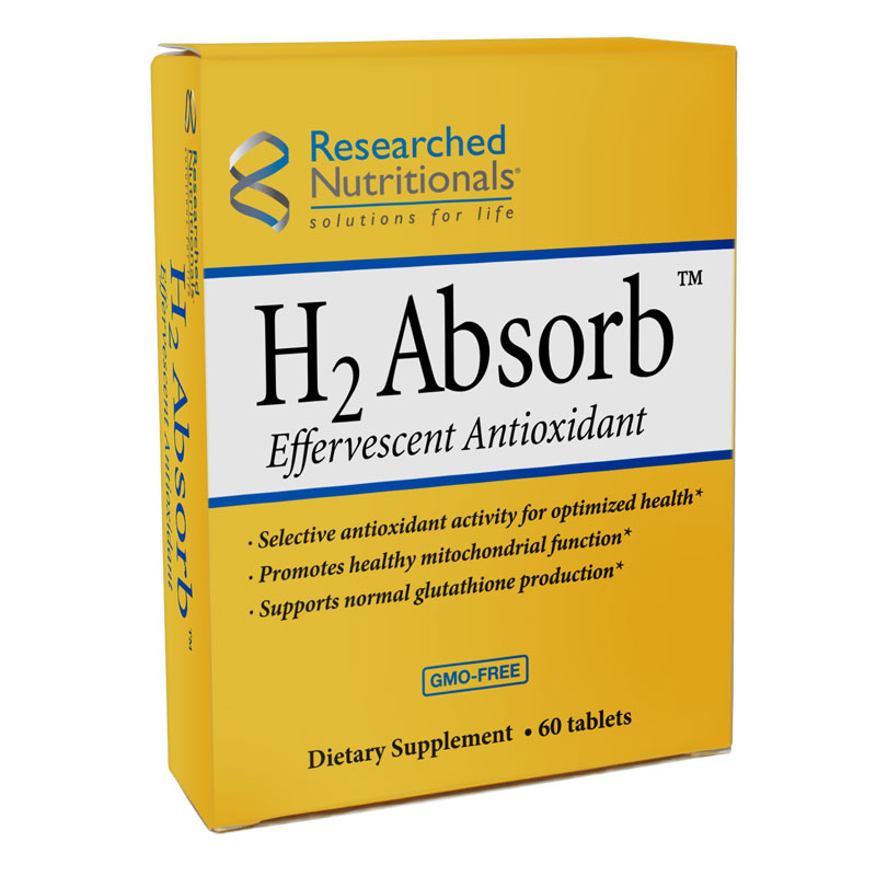 H2 Absorb 60 tablets