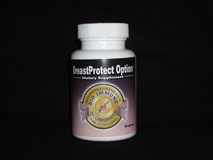 BreastProtect Option 60 Capsules Bottle (Bioimmune)