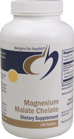 Magnesium Malate Chelate 240 tablets