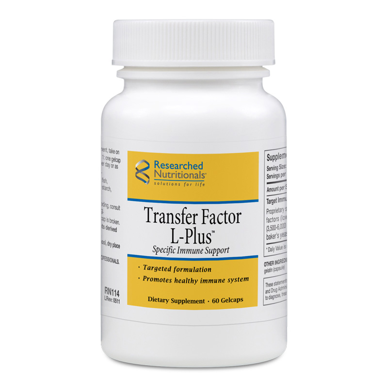 Transfer Factor L-Plus 60 gelcaps