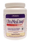 UltraMeal? Plus 360ø  Medical Food 25.5 oz. (714 g) Powder Container (Natural Vanilla)