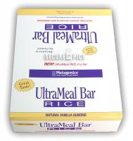 UltraMeal? Bar RICE Medical Food Box of 12 Bars (Vanilla Almond)